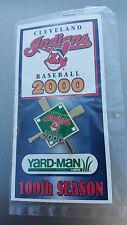 2000 Cleveland Indians Baseball Lapel Hat Pin NIP SGA 100th Season Chief Wahoo