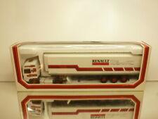 LBS ELIGOR 5402 RENAULT R390 + TRAILER NUBAG SCHWEIZ - WHITE 1:43 - GOOD IN BOX