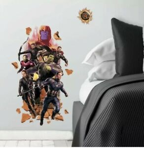 RoomMates Avengers: Endgame Peel And Stick Giant Wall Decals