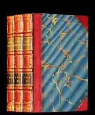 1822 Rare First Edition Book set in Regency binding - The PIRATE by Walter Scott