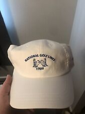 National Golf Links Imperial Hat Brand New White American Needle Adjustable