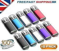10 Paquete a granel 1/2/4/8/16/32GB USB2.0 Memoria Portátil Flash Pen Drive De Color