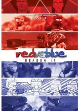 RED VS BLUE SEASON 14 New Sealed DVD RvB Halo