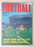 FOOTBALL MONTHLY MAGAZINE FEBRUARY 1968 - CHELSEA - MANCHESTER CITY