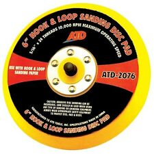 "ATD Tools 2076 6"" DA Pad Hook and Loop Sanding Disc Pad"