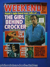 Weekend Magazine - Kevin Dobson - Kojak, Leftie Teachers   4th Feb 1976