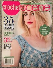 Crochet Scene 35 On Trend Projects Lace And Love Special 2014 FREE SHIPPING!