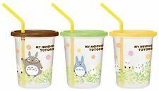 Straw Tumbler Three set mug My Neighbor Totoro Plants Studio Ghibli Xmas Gift