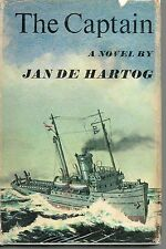 JAN DE HARTOG THE CAPTAIN FIRST EDITION HARDBACK U/C DJ 1967