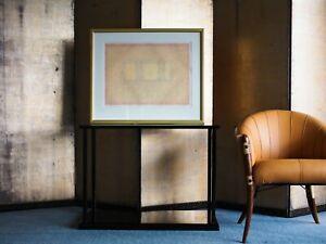 Beautiful minimalist colour field limited lithograph Contemporary Modern Art