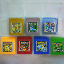 Pokemon Game Cards For Nintendo GBC / GBA Game Boy Color US Version Gifts Toy UK