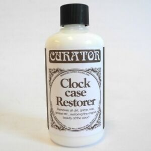 Curator Clock Case Restorer Cleaning Solution Removes Dirt Grime 120ml - HF6025