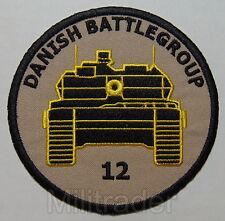 Denmark Danish ISAF Battle Group 12 Patch