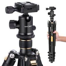 K&F Concept Oro Treppiede Reflex Cavalletto Fotografico Portatile pr Canon Nikon