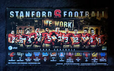 2009 Stanford Cardinal Football Magnetic Schedule