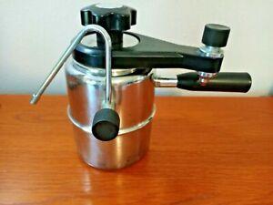 Bellman CX-25 Stovetop Espresso Maker & Milk Steamer Foamer Frother Vintage