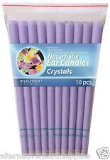 Naturhelix Ear Candles Crystals 5 Pairs Organic Beeswax and Cotton  ARTG 185554