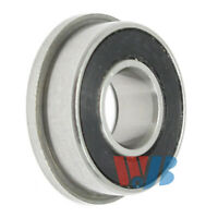 Miniature Flanged Ball Bearings Rubber Sealed Bearing 10 PCS F685-2RS 5x11x5