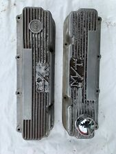 Ford Valve Covers 351 Clevland M/T Mickey Thompson Finned  Aluminum J16820