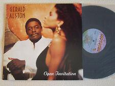 GERALD ALSTON - Open Invitation LP Motown Records USA 1990