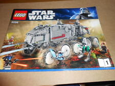 Vintage LEGO Instruction Manual Set 1-2 Star Wars Clone Turbo Tank 8098