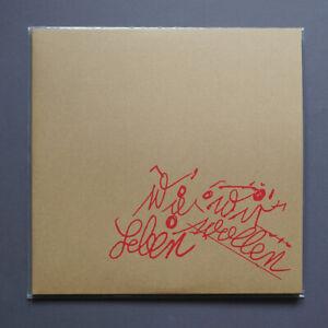 Tocotronic | Wie wir leben wollen LP | 2013 | rotes durchsichtiges 2xVinyl