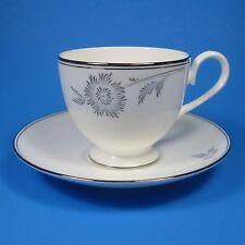 Royal Doulton ALLURE PLATINUM Cup & Saucer Set 1