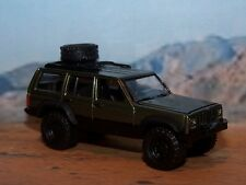 1984 - 2001 JEEP CHEROKEE XJ 4X4 OFF ROAD 1/64 SCALE COLLECTIBLE MODEL - DIORAMA