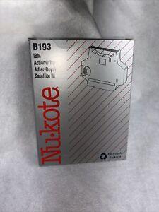 Nukote B193 Ribbon IBM Actionwriter I /Adler-Royal Satellite III