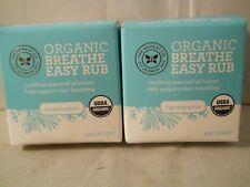 The Honest Company Organic Breathe Easy Rub ,1.8 oz each (2pk) fresh & new