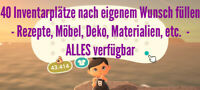 Animal Crossing New Horizons ✈️ großes Wunschpaket ganzes Inventar füllen ✈️