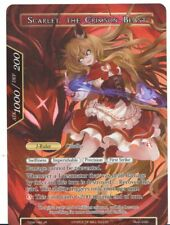 Force of Will: The Time Spinning Witch SCARLET, THE CRIMSON BEAST Misprint NM