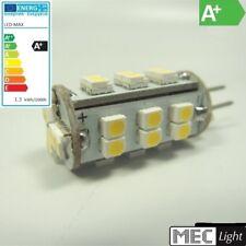 G4 LED Stiftsockel - 30x SMDs 130lm (=15W) Zylinder - warm-weiß