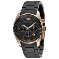 ** NEW **Emporio Armani® watch AR5905 , Rose Gold , mens CHRONOGRAPH