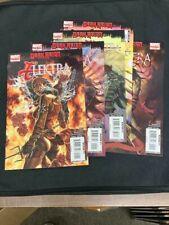 Dark Reign ELEKTRA #1-5, Marvel Comics, (2009) Complete Series (CC2) Daredevil