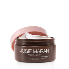 Josie Maran Whipped Argan Oil Body Butter, 8oz, Vanilla Fig *unsealed