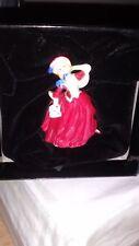 Royal Doulton Boxed Autumn Breeze M241 Miniature Ladies Figurine mint condition