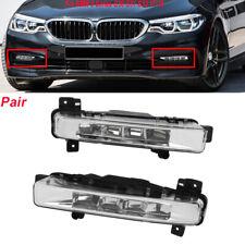Pair Fog Light Assembly Car Front Fog Lights Lamps For BMW 5Series G30 G31 17-18