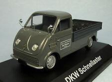 SCHUCO DKW Flatbed Coal Truck (Grey) 1/43 Scale Diecast Model NEW, RARE!