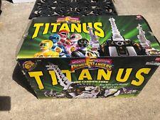 Mighty Morphin Power Rangers Titanus 2240 Ultrazord BANDAI NEW Wear Ripped Seals