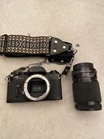 Vintage Sears KS Super II 35mm SR 2000 Camera& Auto Multicoated Zoom Lens