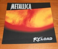Metallica Reload Poster 2-Sided Flat Square 1997 Promo 12x12