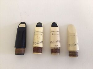Brilhart Tonalin 5* 3* 2* Clarinet Mouthpiece lot of 4 Arnold Brilhart Design