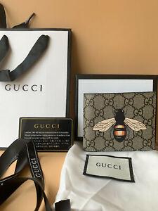 Gucci grey bee Purse