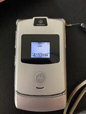 Motorola Razr V3 - Silver (Cingular/At&T) - Gsm Unlocked