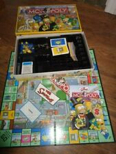 Simpsons Monopoly Game 2004 Parker Bros