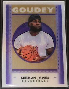 LeBron James 2019 Goodwin Champions GOUDEY LENTICULAR Insert Card SP (no.GL1)