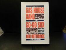 Don Gutteridge St Louis Browns Cardinals Autographed Signed Book Deceased