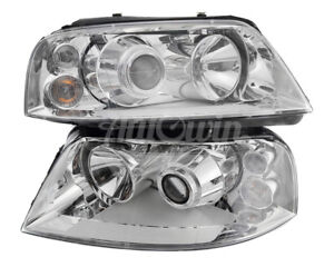 Seat Alhambra FL Front Xenon Headlight Set Right and Left Side Original OEM NEW