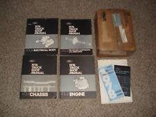 1976 FORD TRUCK SHOP MANUAL SET ORIGINAL SERVICE BOOKS REPAIR BRONCO F C SERIES